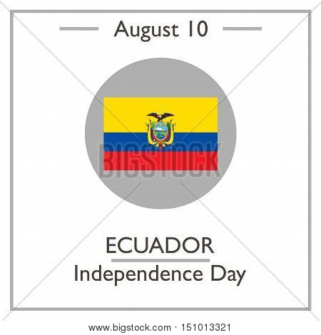 Ecuador Independence Day, August 10