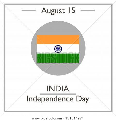 India Independence Day, August 15