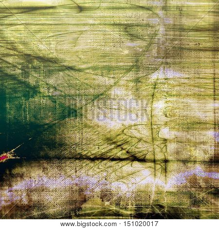 Grunge texture, aged or old style background with retro design elements and different color patterns: yellow (beige); brown; gray; green; black; white