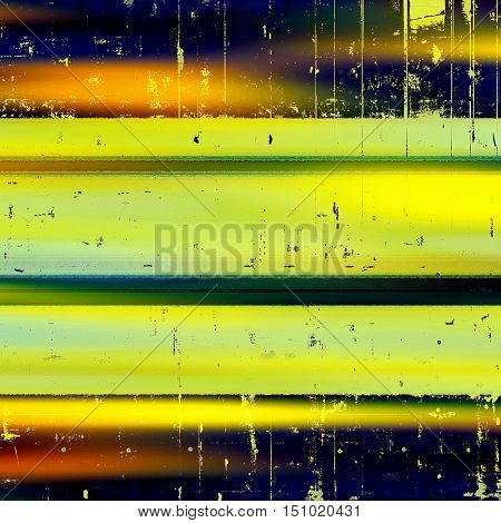 Retro abstract background, vintage grunge texture with different color patterns: yellow (beige); brown; green; blue; red (orange); black