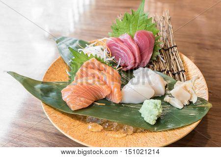 Sashimi grand luxuary japanese cuisine