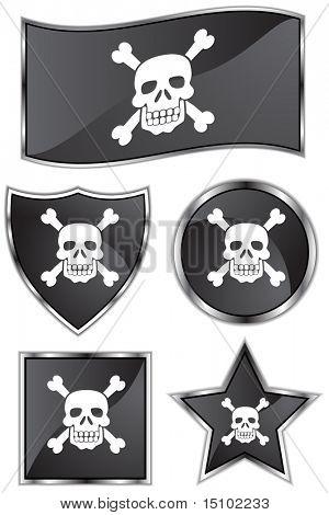 Pirate Flag Set