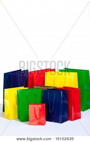 Bunch Of Shopping Bags