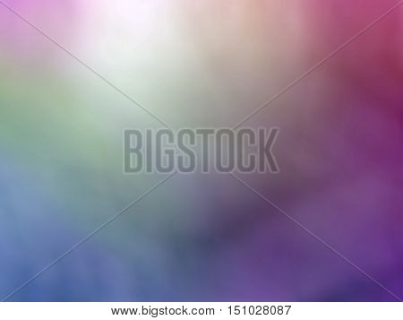 Blue green purple violet colored abstract blurred background