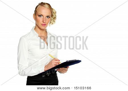 Professional business woman