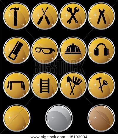 Hardware Set Gold