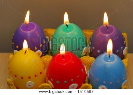 6 Kerzen