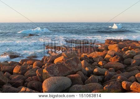 Where Icebergs go to die... Iceberg Alley Newfoundland and Labrador.