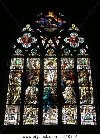 Church Stained Glass 1