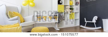 Baby Room With Positive Atmosphere