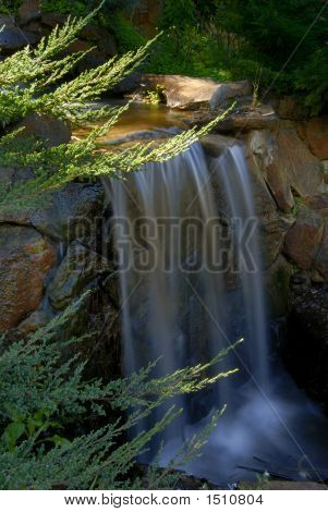 Mountain Stream Waterfall