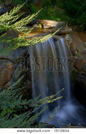 Mountain Stream Waterfall