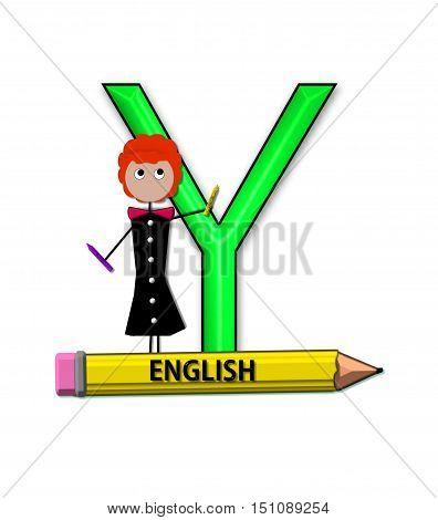 Alphabet Teacher And Class Y