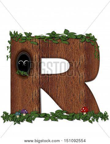 Alphabet Log R
