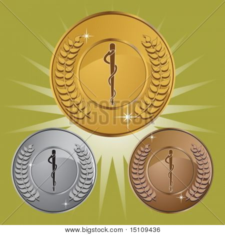caduceus coin