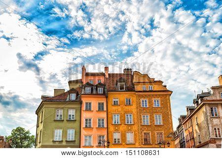 Warsaw - Castle Square and Sigismund's Column Poland