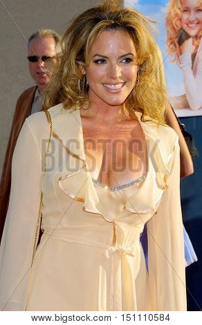 Sandra Taylor at the Los Angeles premiere of 'Raising Helen' held at the El Capitan Theatre in Hollywood, USA on May 26, 2004.