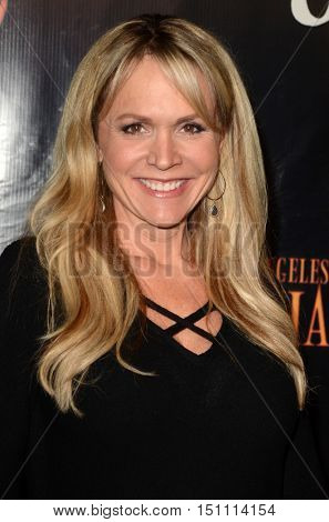 LOS ANGELES - OCT 9:  Barbara Alyn Woods at the Haunted Hayride 8th Annual VIP Black Carpet Event at the Griffith Park on October 9, 2016 in Los Angeles, CA