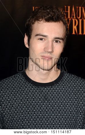LOS ANGELES - OCT 9:  Parker Mack at the Haunted Hayride 8th Annual VIP Black Carpet Event at the Griffith Park on October 9, 2016 in Los Angeles, CA