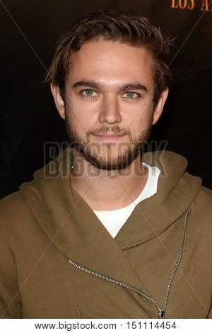 LOS ANGELES - OCT 9:  Zedd at the Haunted Hayride 8th Annual VIP Black Carpet Event at the Griffith Park on October 9, 2016 in Los Angeles, CA