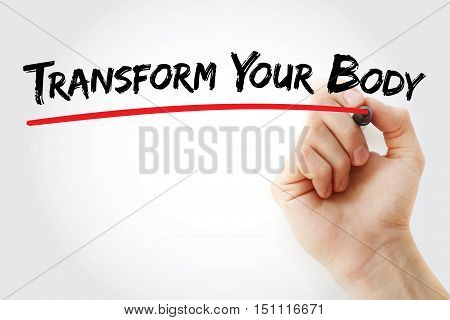 Hand Writing Transform Your Body