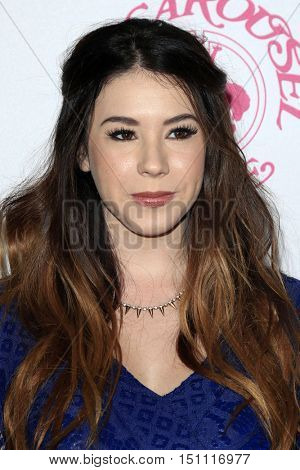 LOS ANGELES - OCT 8:  Jillian Rose Reed at the 2016 Carousel Of Hope Ball at the Beverly Hilton Hotel on October 8, 2016 in Beverly Hills, CA