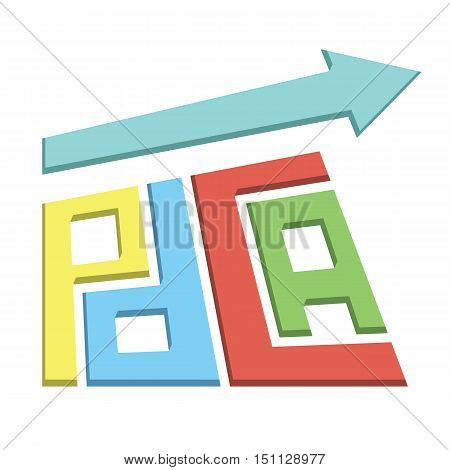 plan do check act approach growing income process improvement method vector illustration