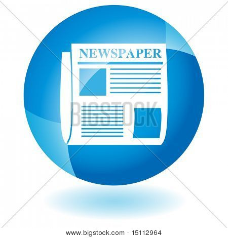 newspaper glass
