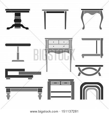 Turn the Tables - Furniture set of 11