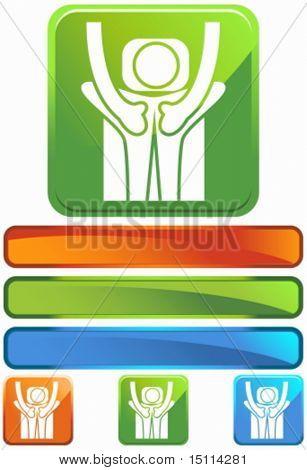 massage square glossy