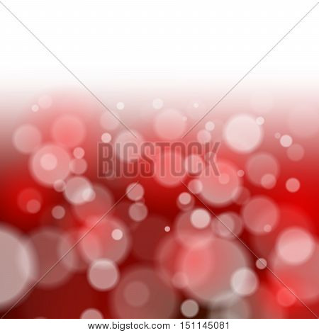 Vector Illustration. Abstract Bright Christmas Background. Graphic Design Useful For Your Design
