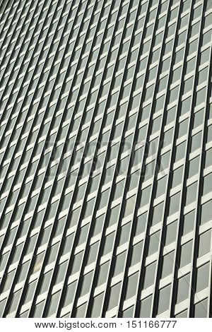 City urban building background window grids reflection lifestyle
