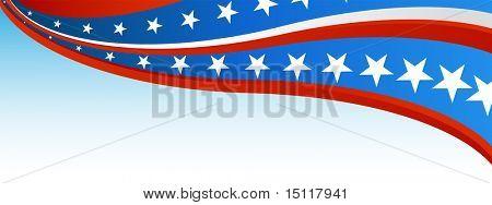Bandera patriótica de la bandera