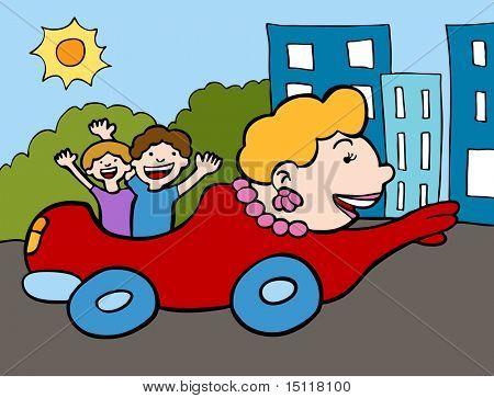 Mom Car Color