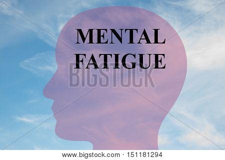 Mental Fatigue Concept
