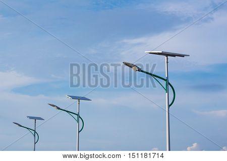 Solar Energy And Sky.
