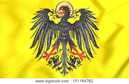 3D Imperial Banner Of Holy
