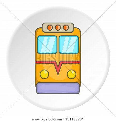 Train locomotive icon. artoon illustration of locomotive vector icon for web