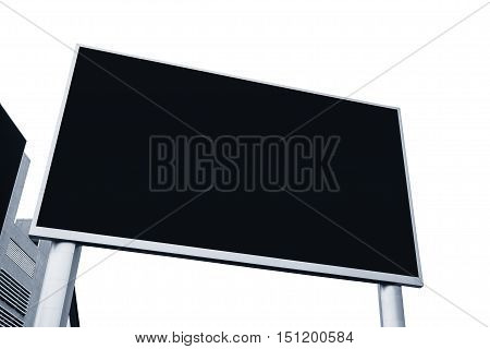 Blank Billboard Mock up Banner Media Display Outdoor