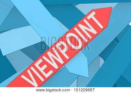 Viewpoint Arrow Pointing Upward