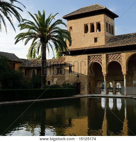 Moorish Architecture In The Alhambra