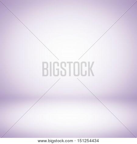 Light purple gradient room studio background / Abstract purple gradient background. Used as background for product display