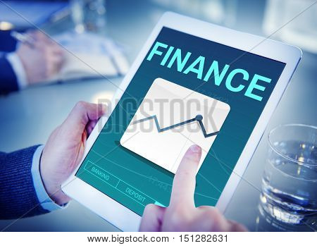 Finance Accounting Deposit Investment Concept