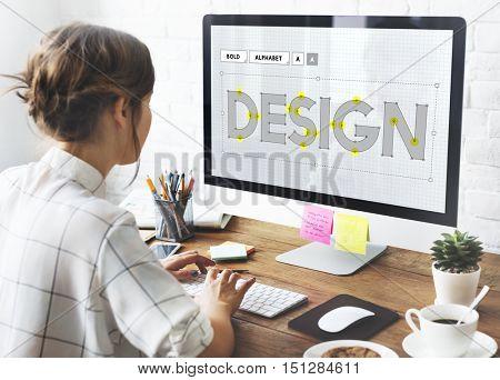 Design Creative Draft Ideas Objective Sketch Plan Concept