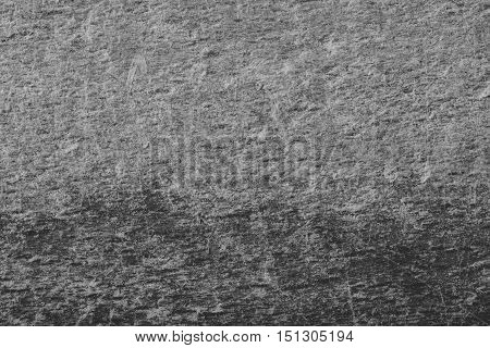 Abstract scratched background in black and white with unique texture.