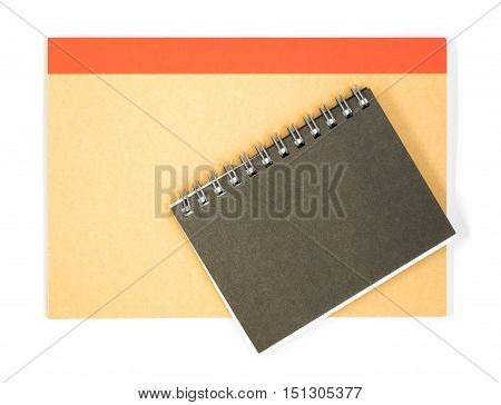 Office stationary notebook made from recycle paper