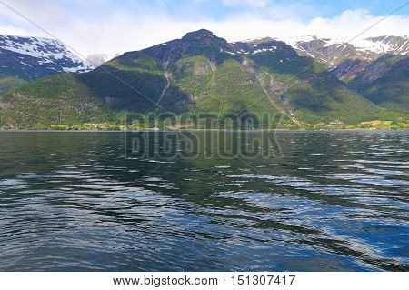Fiord In Norway