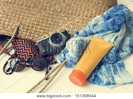 Beach Summer Holiday Vacation Getaway Relaxation Concept