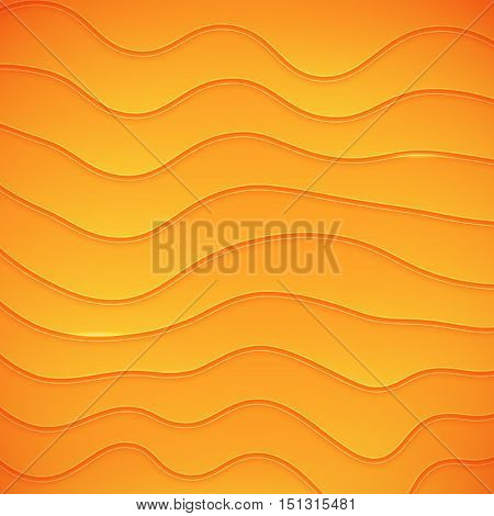 Vector warped lines background. Modern abstract creative backdrop.