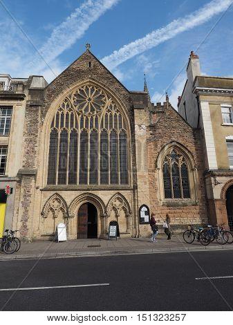 Lord Mayor Chapel In Bristol